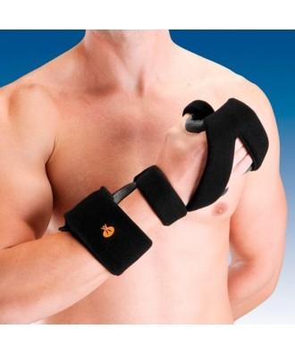 Férula inmovilizadora de mano palmar-pulgar en aluminio maleable - Ref: OM6101D (dcha) / OM6101I (izq)