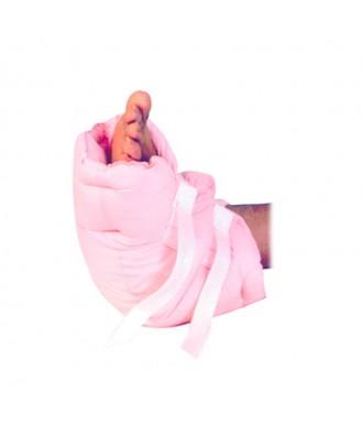 Talonera rosa antiescaras - Ref: ATV-013