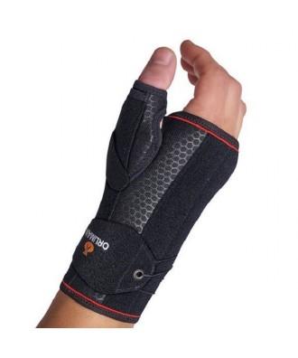 Muñequera semirrígida con férulas palmar/dorsal/pulgar - Ref: MFP-D91(dcha) / MFP-I91 (izq)