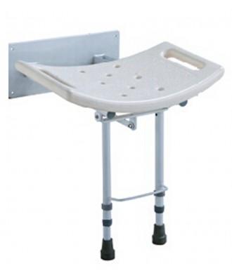 Asiento de pared con patas para ducha - Ref: 2188