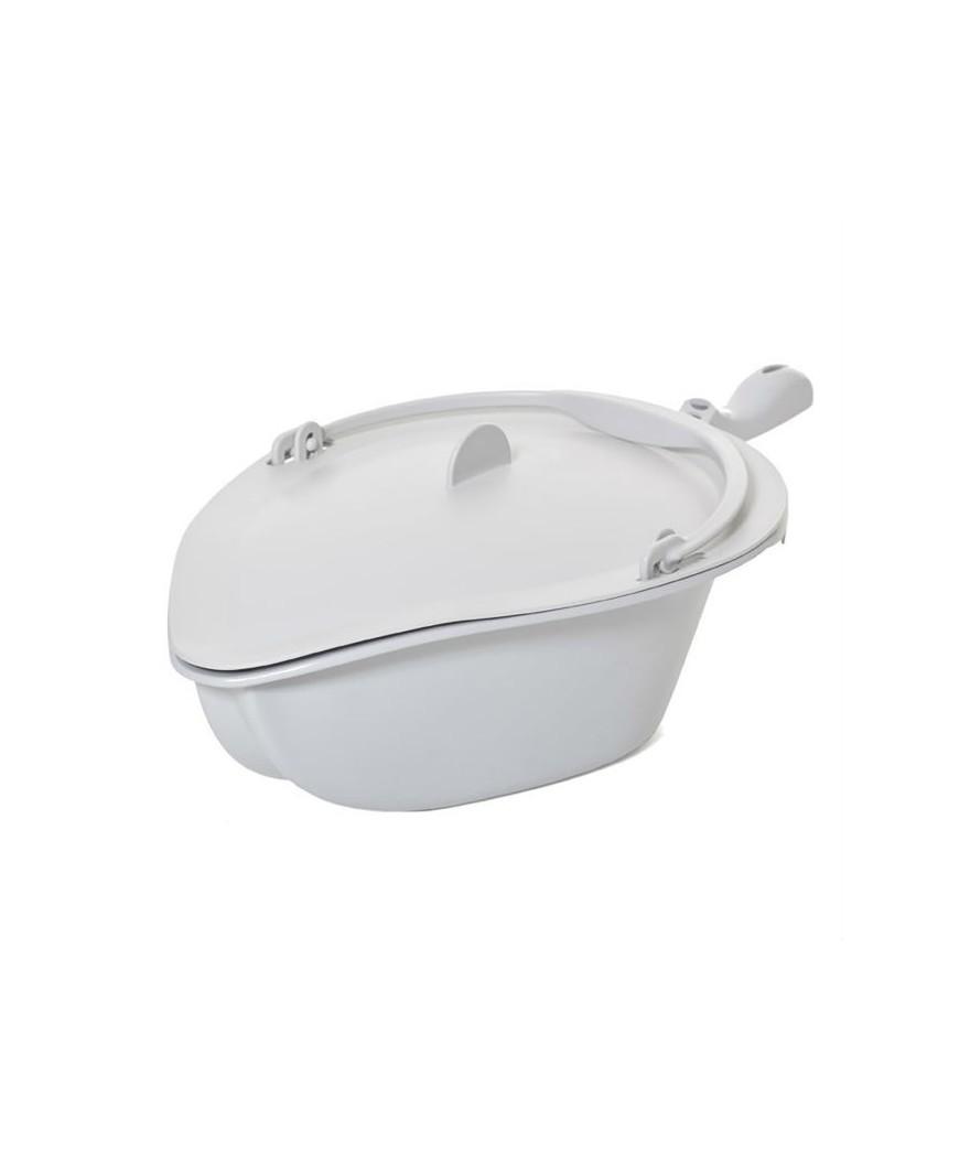 Orinal con tapa y asa para silla inodoro y ducha Clean A828/3