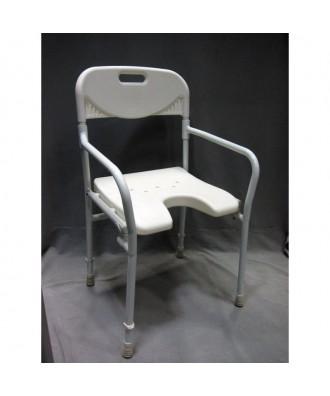 Silla de ducha plegable de aluminio Ref: 2298