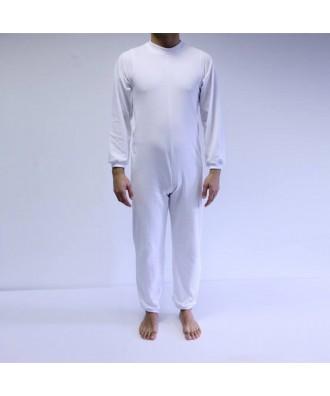 Pijama largo con cremallera entre piernas - Ref: ATV-081