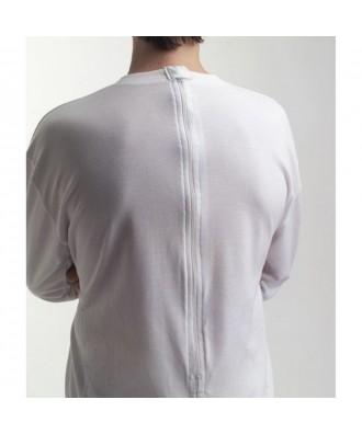 Pijama comprido com fecho nas costas e entre pernas - Ref: ATV-2081