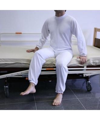Pijama largo con cremallera en espalda - Ref: ATV-1081