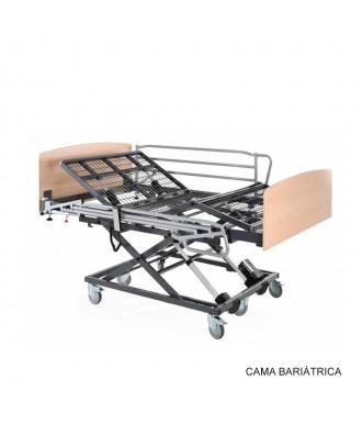 Cama articulada regulável em altura - Ref: BARIATRICA