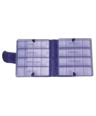 Caixa de pilulas semanal grande - Ref: H9932