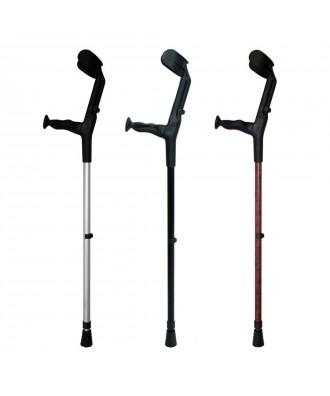 Canadianas anatómicas altura ajustável - Ref: BCRA-R