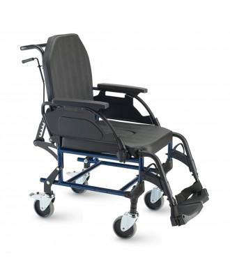 Silla de ruedas de acero de interior - Ref: 3018A