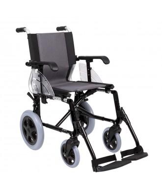 Cadeira de rodas de alumínio desdobrável - Ref: LINE 300
