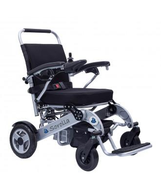 Cadeira de rodas dobrável elétrica - Ref: SOROLLA