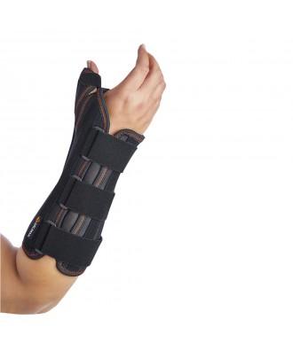 Muñequera con férula palmar y de pulgar rígidas - Ref: OPL352 (negro) / OPL353 (beige)