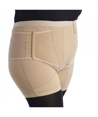 Faixa calção lombar com perna pantbrace - Ref: PF010