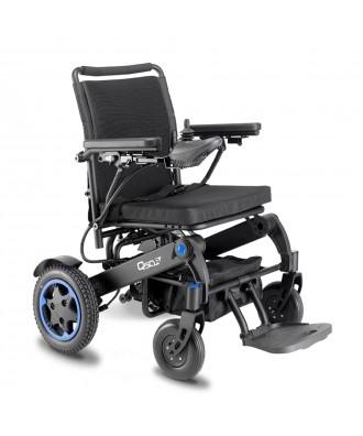 Silla de ruedas eléctrica plegable - Ref: Q50 R