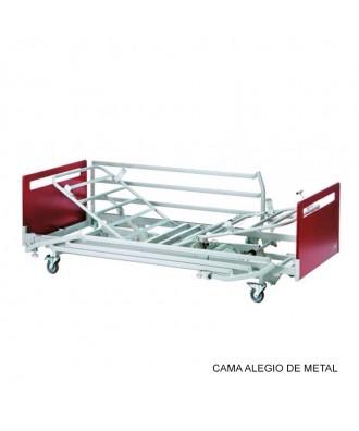 Cama articulada con carro elevador - Ref: ALEGIO METAL