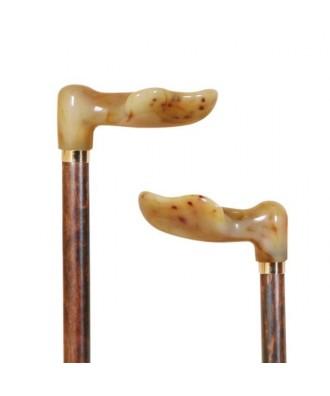 Bastón muletilla anatómica de asta - Ref: 152 / 153