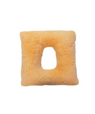 Cojín con agujero de lana natural - Ref: 1728