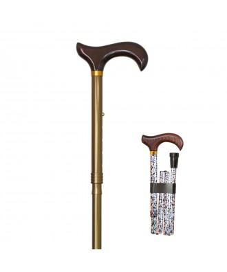 Bastón muletillla plegable de aluminio - Ref: 1591