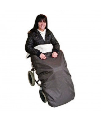 Cobertor protetor de pes para cadeira de rodas