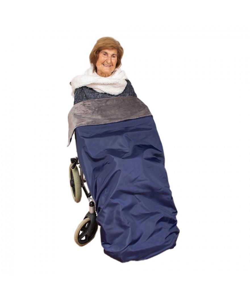 Cubrepies manta para silla de ruedas