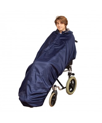 copy of Capa impermeável sem mangas para cadeira de rodas