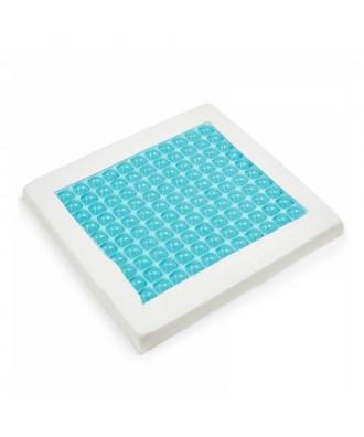 Cojín viscoelástico cuadrado de gel - Ref: Cojín Gel