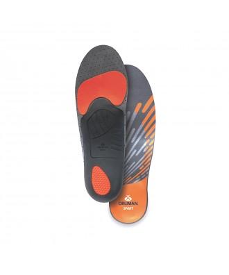 Plantilla deportiva con descarga en talón y metatarsos - Ref: OS6706