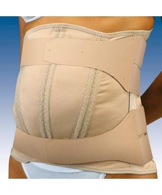 Faja sacrolumbar abdomen péndulo