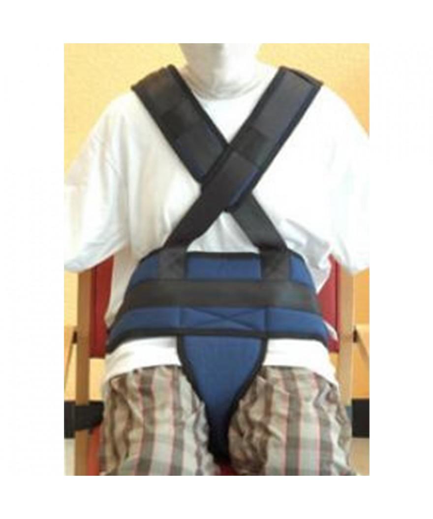 Arnés de tronco completo con cinturón y zona pélvica - Ref: ATV-028