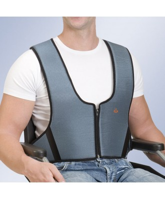 Arnês colete com zip - Ref: 1000