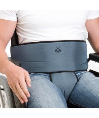 Arnés cinturón abdominal y pieza perineal para silla - Ref: 1005