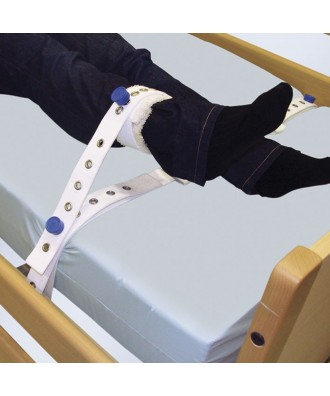 Arnês para tornozelos a cama com imãs - Ref: 1015