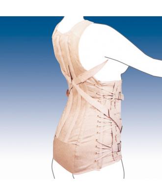 Faja dorsolumbar abdomen péndulo semirrígida - Ref: 2050-S