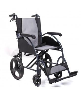 Cadeira de rodas de alumínio dobrável - Ref: 2238