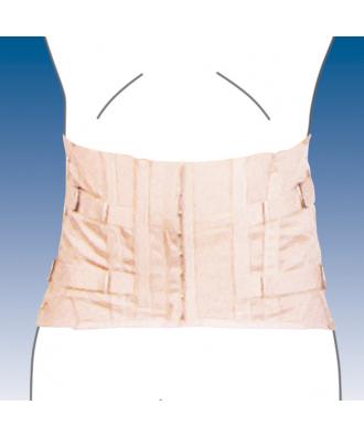 Faja sacrolumbar semirrígida corta - Ref: 3010-C