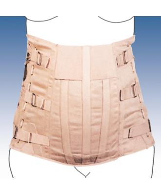 Faja sacrolumbar abdomen péndulo semirrígida - Ref: 3040-C