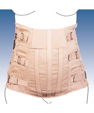 Faja semirrígida dorsolumbar abdomen péndulo para caballero - Ref: 3050-C