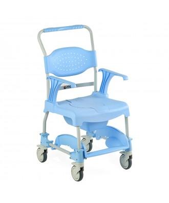 Silla de ducha y wc con ruedas - Ref: MOEM