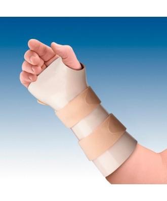 Férula de inmovilización de muñeca en termoplástico (dorsiflexión 35º-40º) - Ref: TP-6100D (dcha) / TP-6100I (izq)