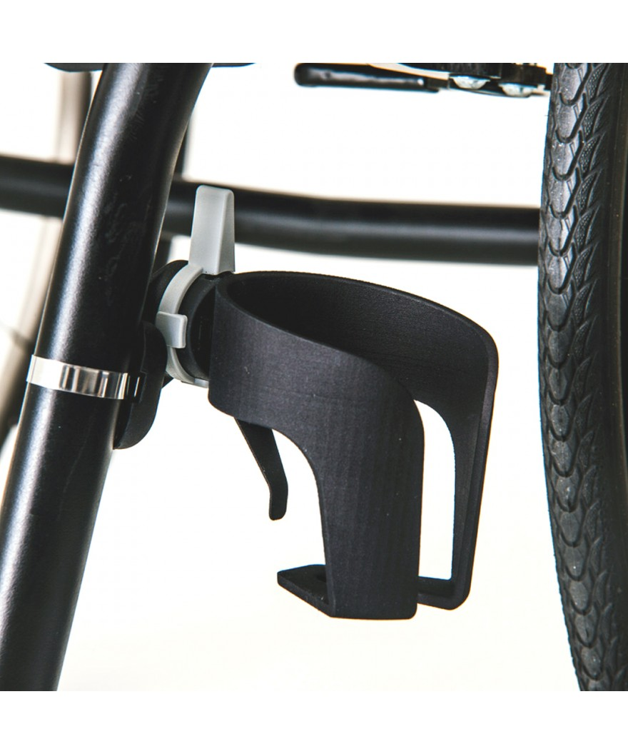 Soporte de botellas y vasos para silla de ruedas - Ref: CH-ZW