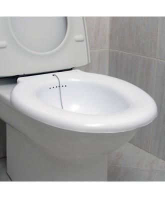 Bidet portátil para inodoro com tampa - Ref: 9050050
