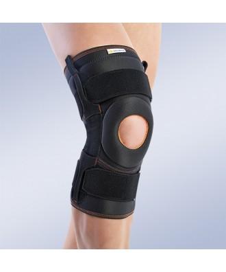 Rodillera con refuerzos laterales flexibles - Ref: 6103 (beige) / 7103 (negro)