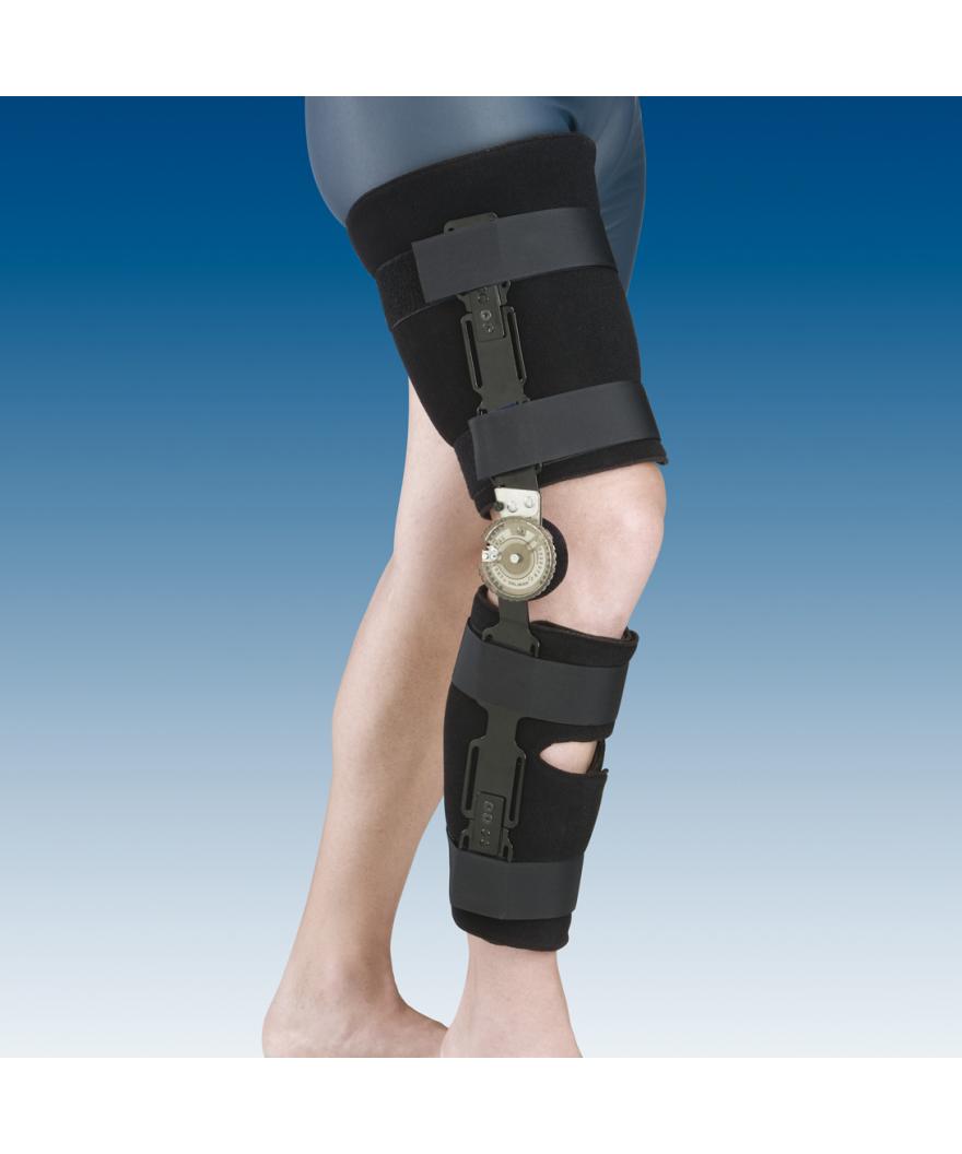 Órtesis de rodilla con bloqueo - Ref: 94250 (4 bandas estrechas