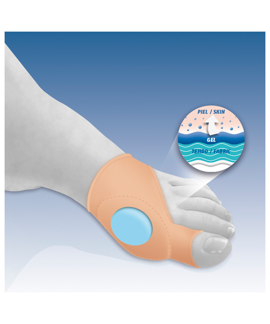 Protector de juanetes con almohadilla en gel - Ref: GL-121