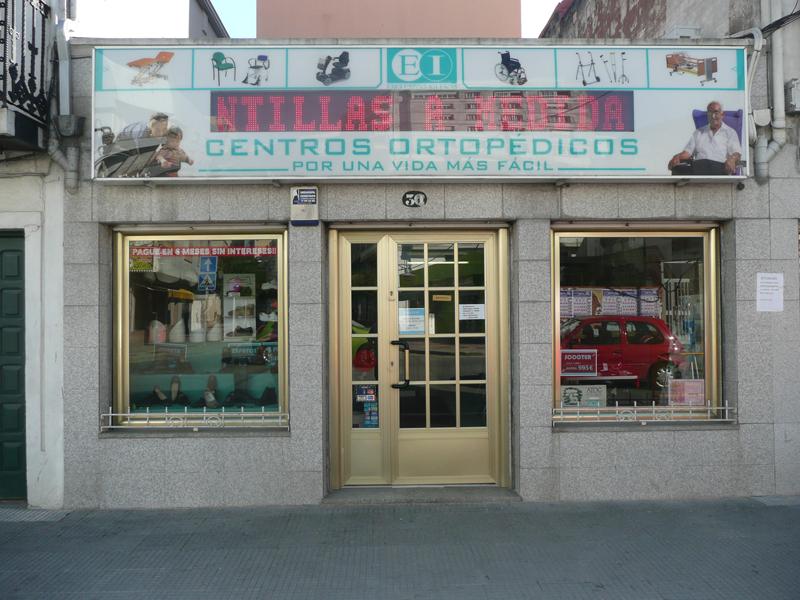 Centro ortopédico Exclusivas Iglesias c/ Mendez Nuñez Cangas