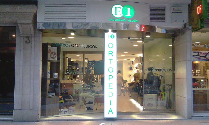 Centro ortopédico Exclusivas Iglesias c/ Castelao Pontevedra
