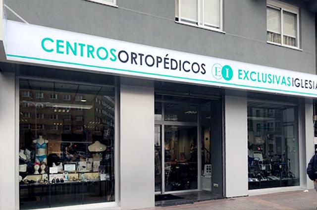 Centro ortopédico Exclusivas Iglesias av. Finisterre A Coruña