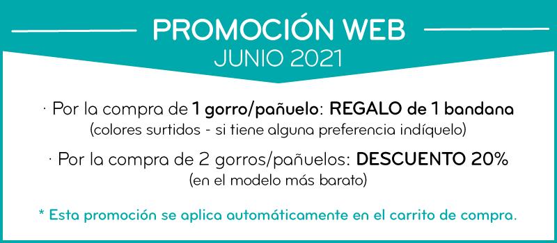 Promo Junio 2021 Pañuelos y gorros