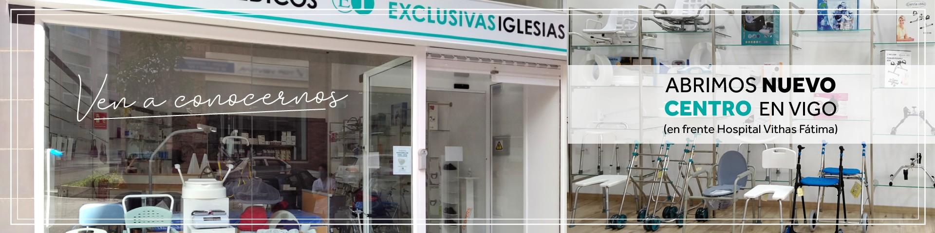 Abrimos NUEVO CENTRO en Vigo (en frente del Hospital de Fátima)