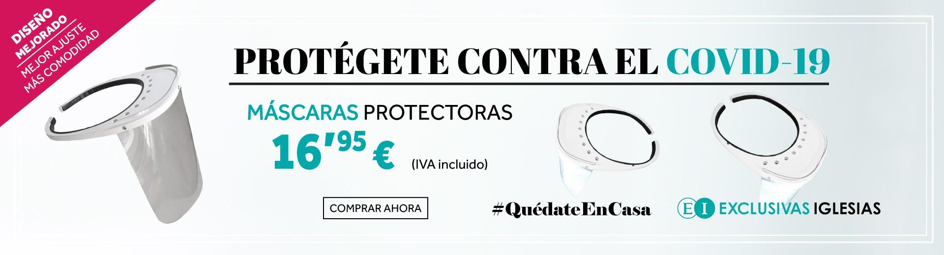 Máscaras de protección contra el COVID-19